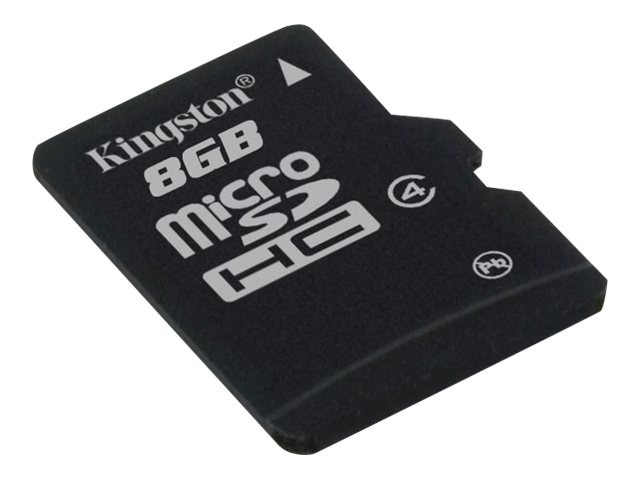 Kingston Tarjeta de memoria micro sd hc microSD 8 GB moviles android, samsung, huawei, sony xperia, iphone, tablet, camara de foto, marco digital....